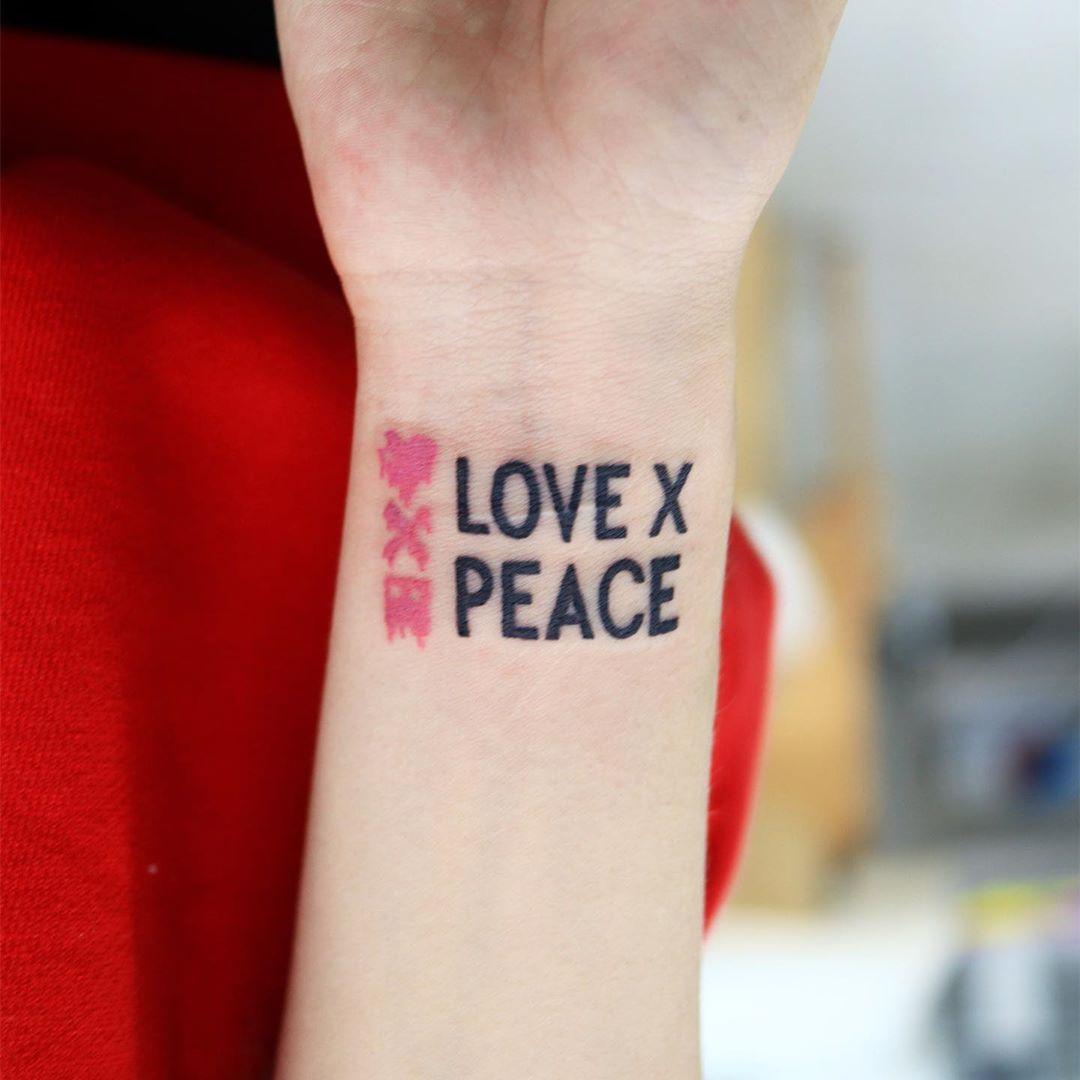 Love x Peace by Puff Channel