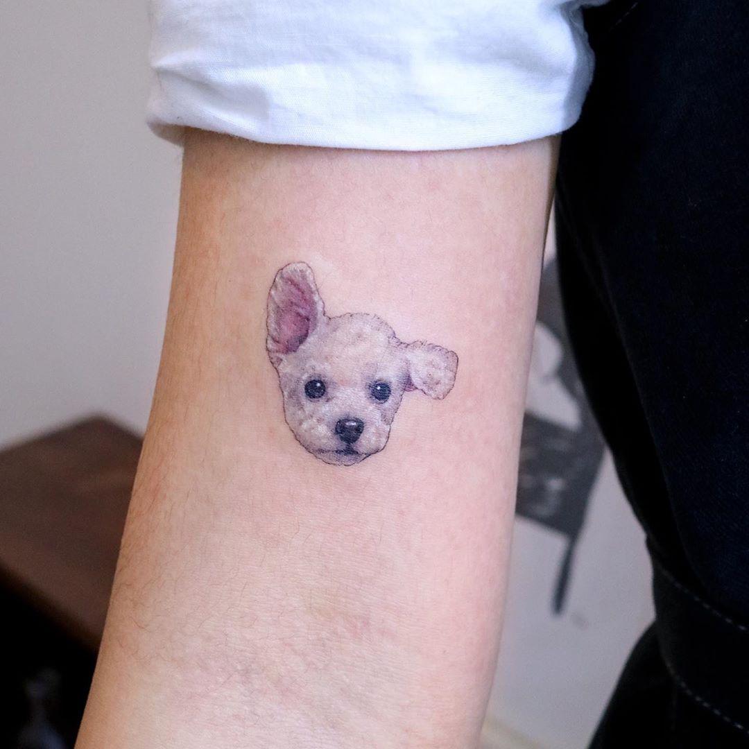 Puppy by tattooist Nemo