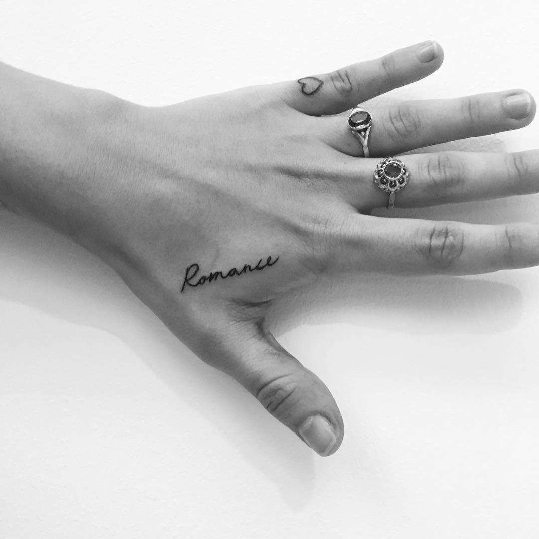 Romance tattoo by Philipp Eid