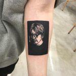 Ryuichi Sakamoto tattoo by Puff Channel