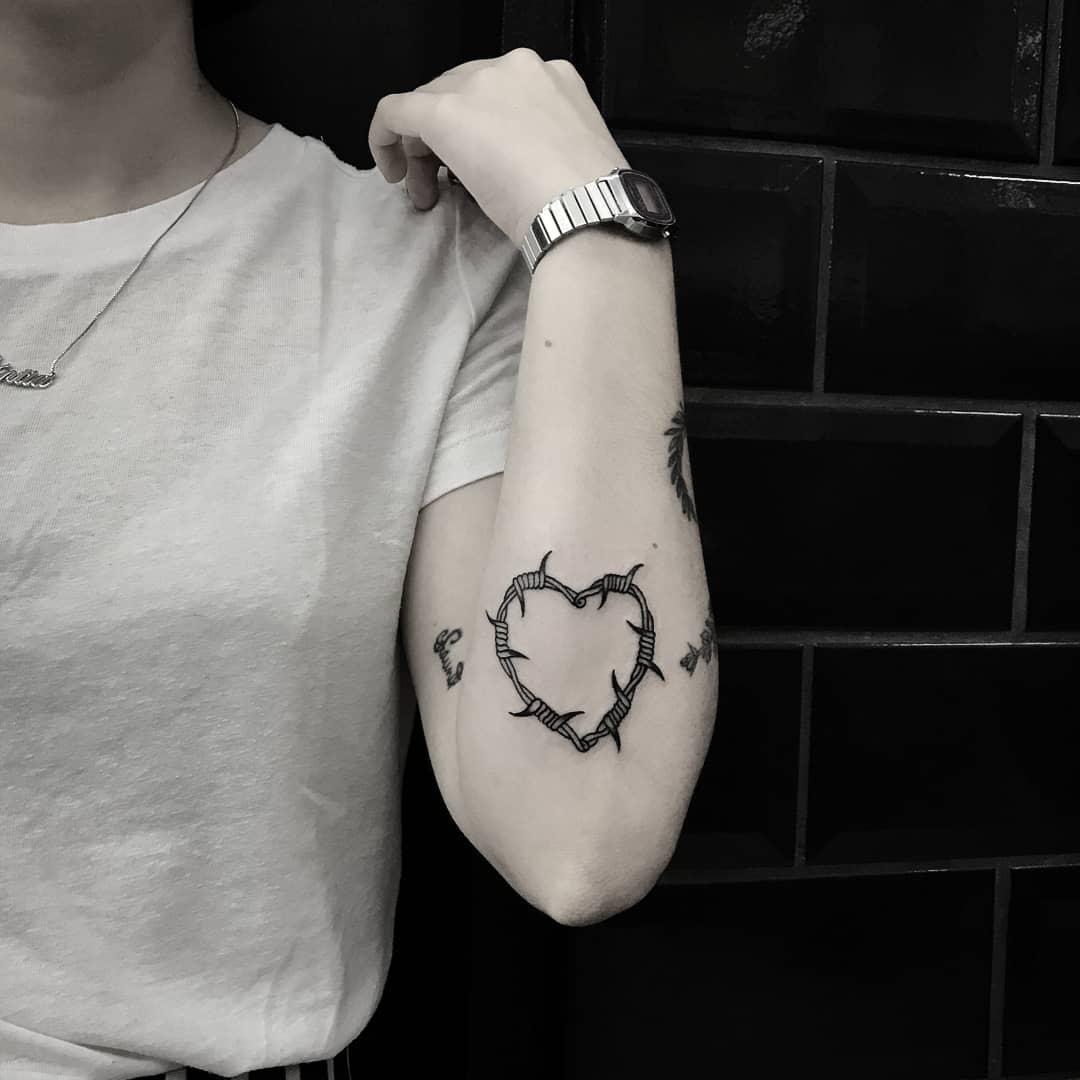 Self love by tattooist gvsxrt