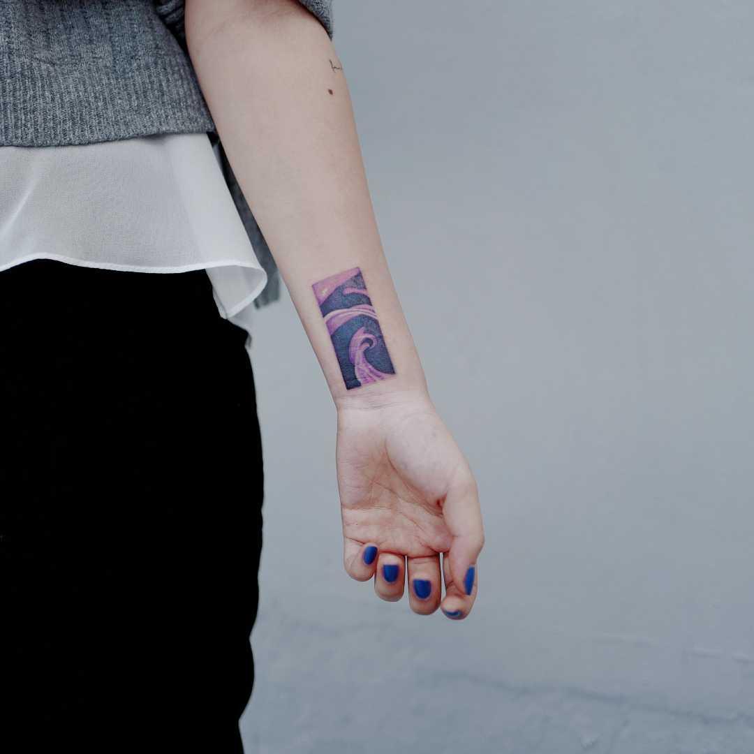 Anna Sui Perfume tattoo by Studio Bysol