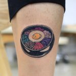 Bibimbap tattoo by Puff Channel