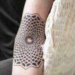 Black and white mandala by Remy B