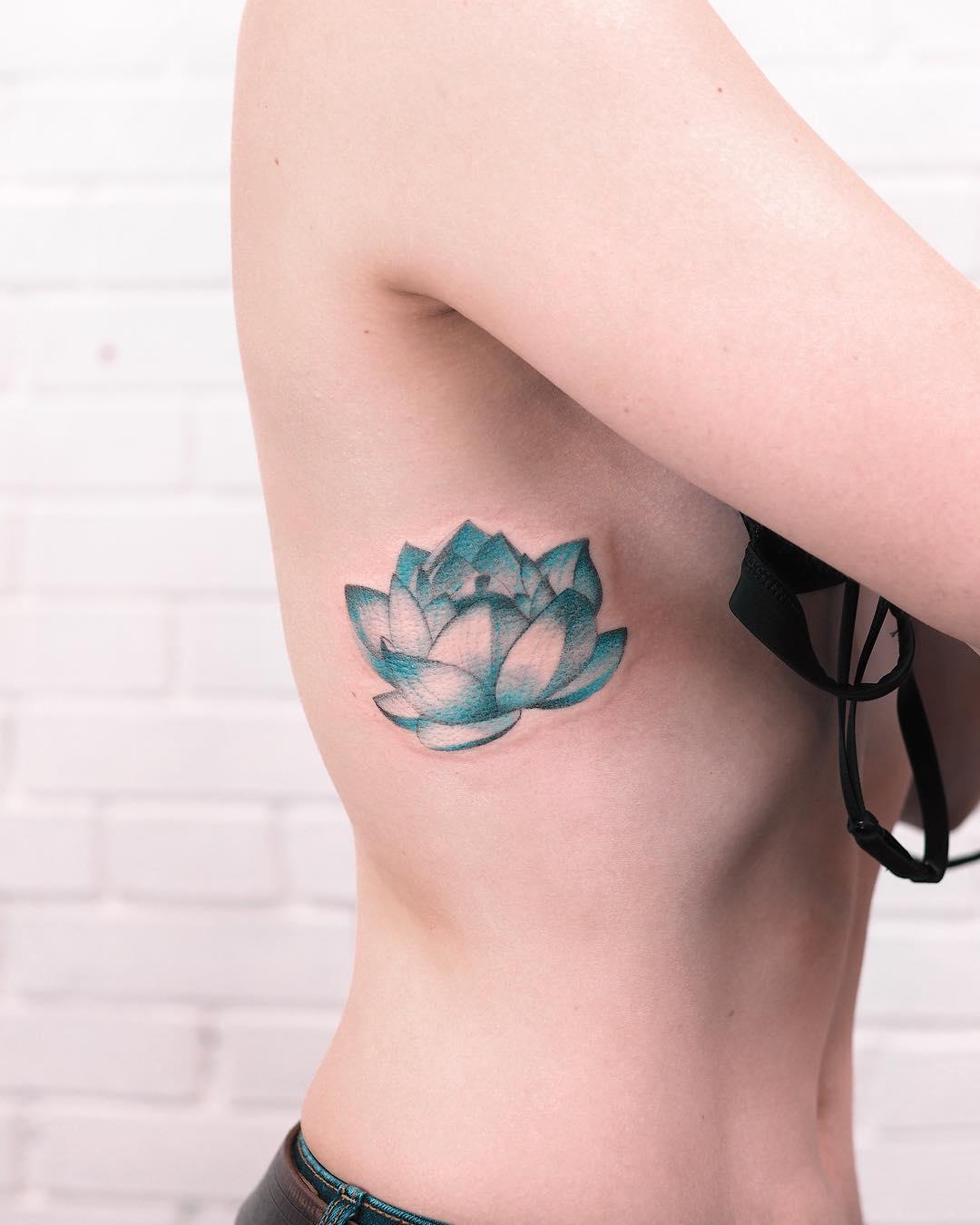 Blue Lotus by Evgeny Mel