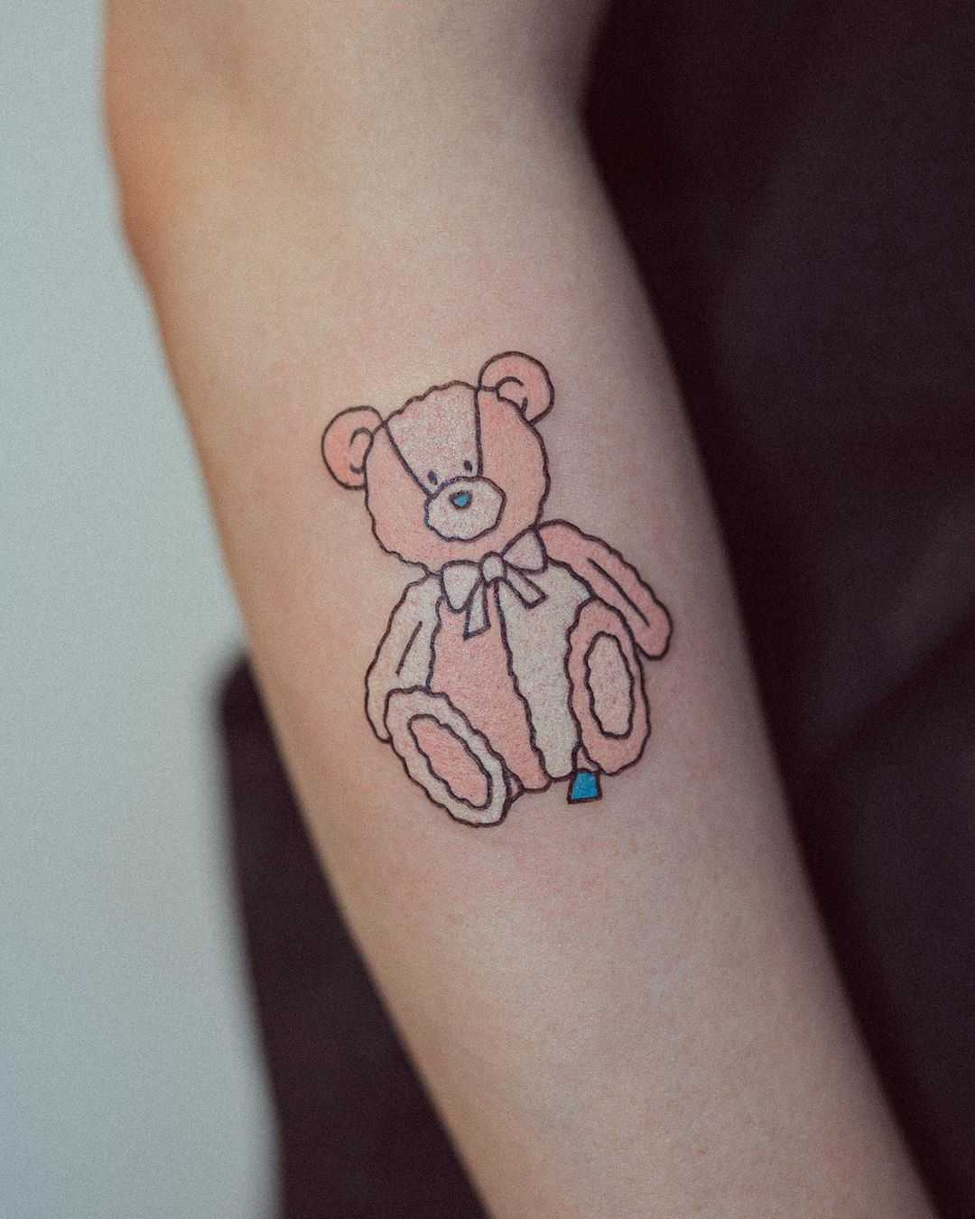 Childhood friend by tattooist Bongkee