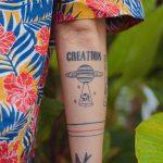 Creation by tattooist Bongkee