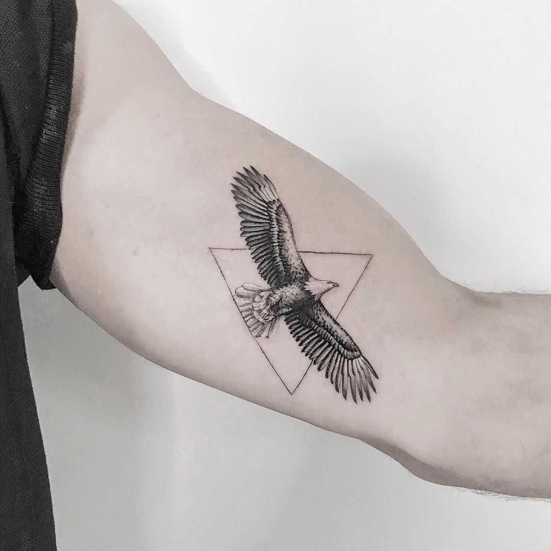 Eagle tattoo by Mr.Gulliver