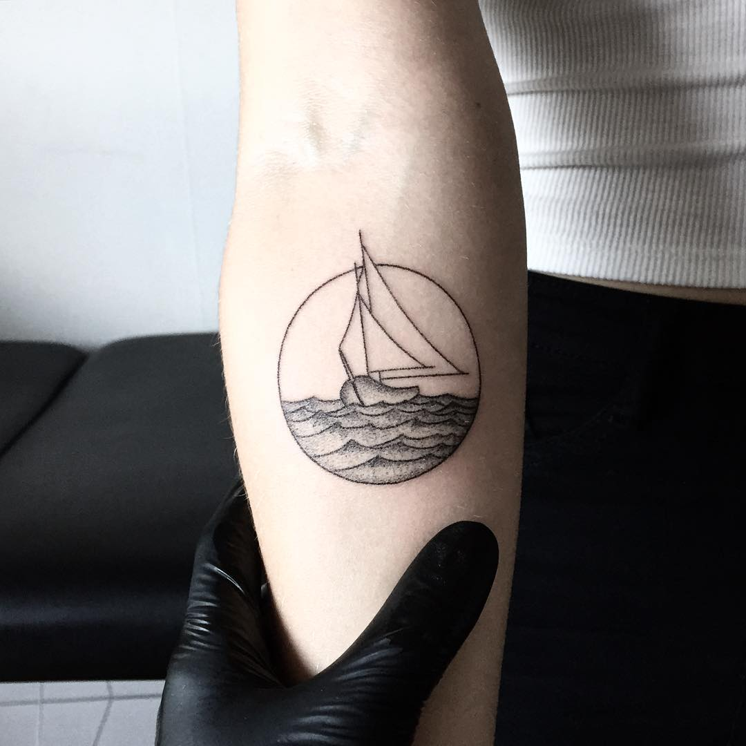 For her sailor dad by tattooist pokeeeeeeeoh