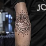 Inner elbow mandala by Remy B