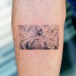 Laputa Castle in the sky by tattooist Oozy