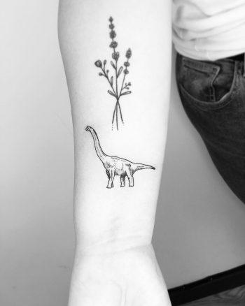 Little Brachiosaurus by Jake Harry Ditchfield