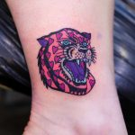 Love panther tattoo by Puff Channel