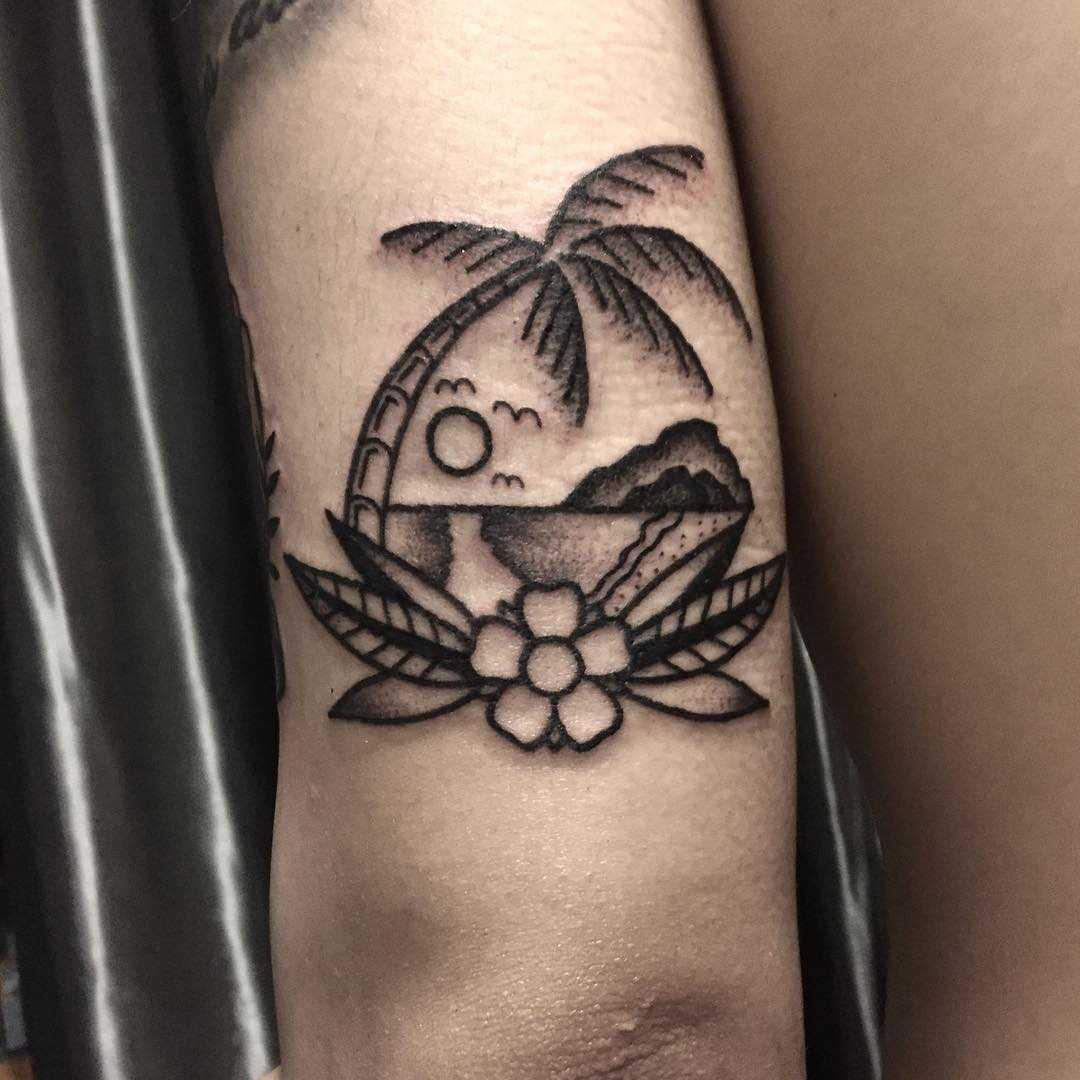 Paradise by tattooist yeontaan