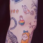 Rainbow potion by tattooist Bongkee