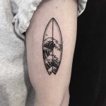 Surfboard by tattooist yeontaan