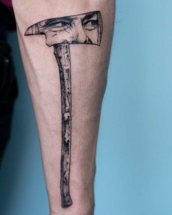 The Shining tattoo by tattooist Oozy