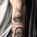 The eye by tattooist yeontaan