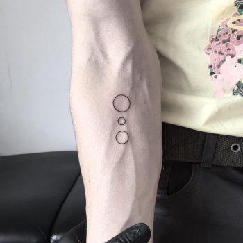 Three circles by tattooist pokeeeeeeeoh