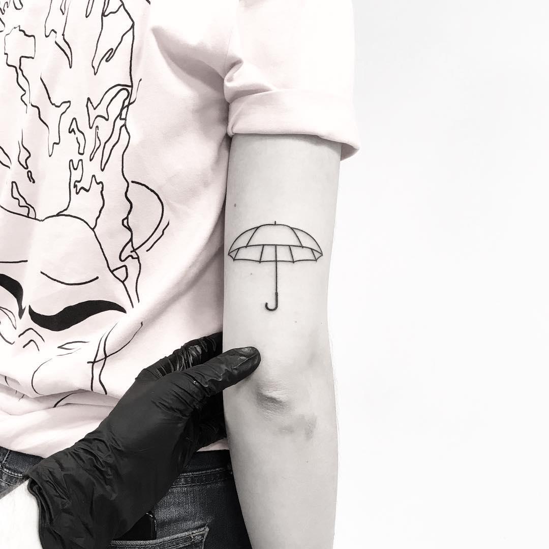 Umbrella by tattooist pokeeeeeeeoh
