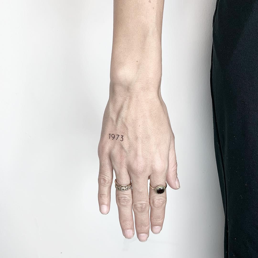 1973 tattoo by Sara Kori