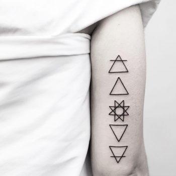 Alchemy symbols by Malvina Maria Wisniewska