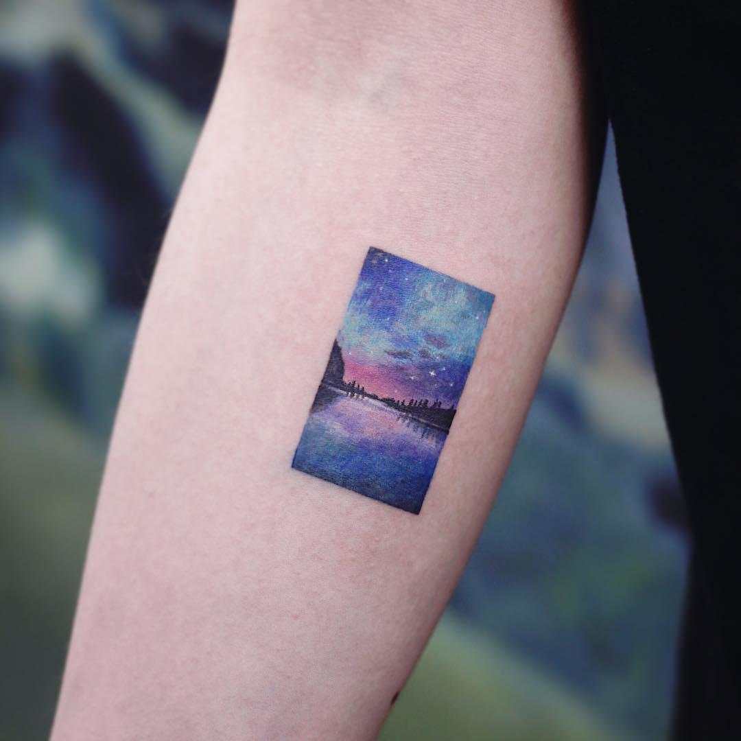 Aurora by tattooist Saegeem