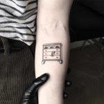 Chest of drawers tattoo by tattooist pokeeeeeeeoh