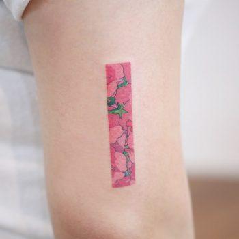 Chihiros flower by tattooist Saegeem