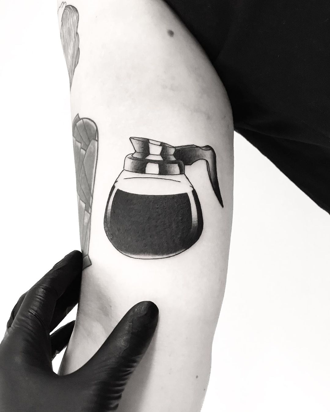 Coffee pot by tattooist pokeeeeeeeoh