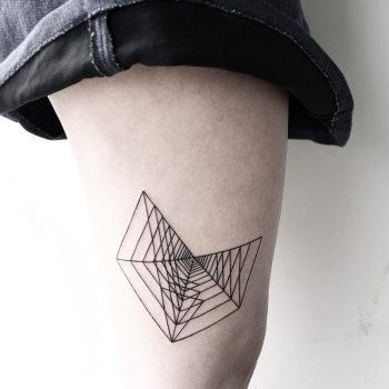 Cool geometry by Malvina Maria Wisniewska