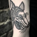 Cool wolf by tattooist MAIC