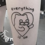 Everything is ok by tattooist Mr.Heggie