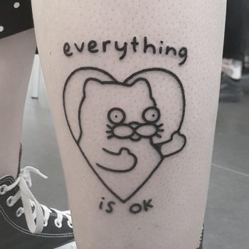 Everything is ok by tattooist Mr.Heggie