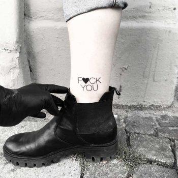 F you by tattooist pokeeeeeeeoh