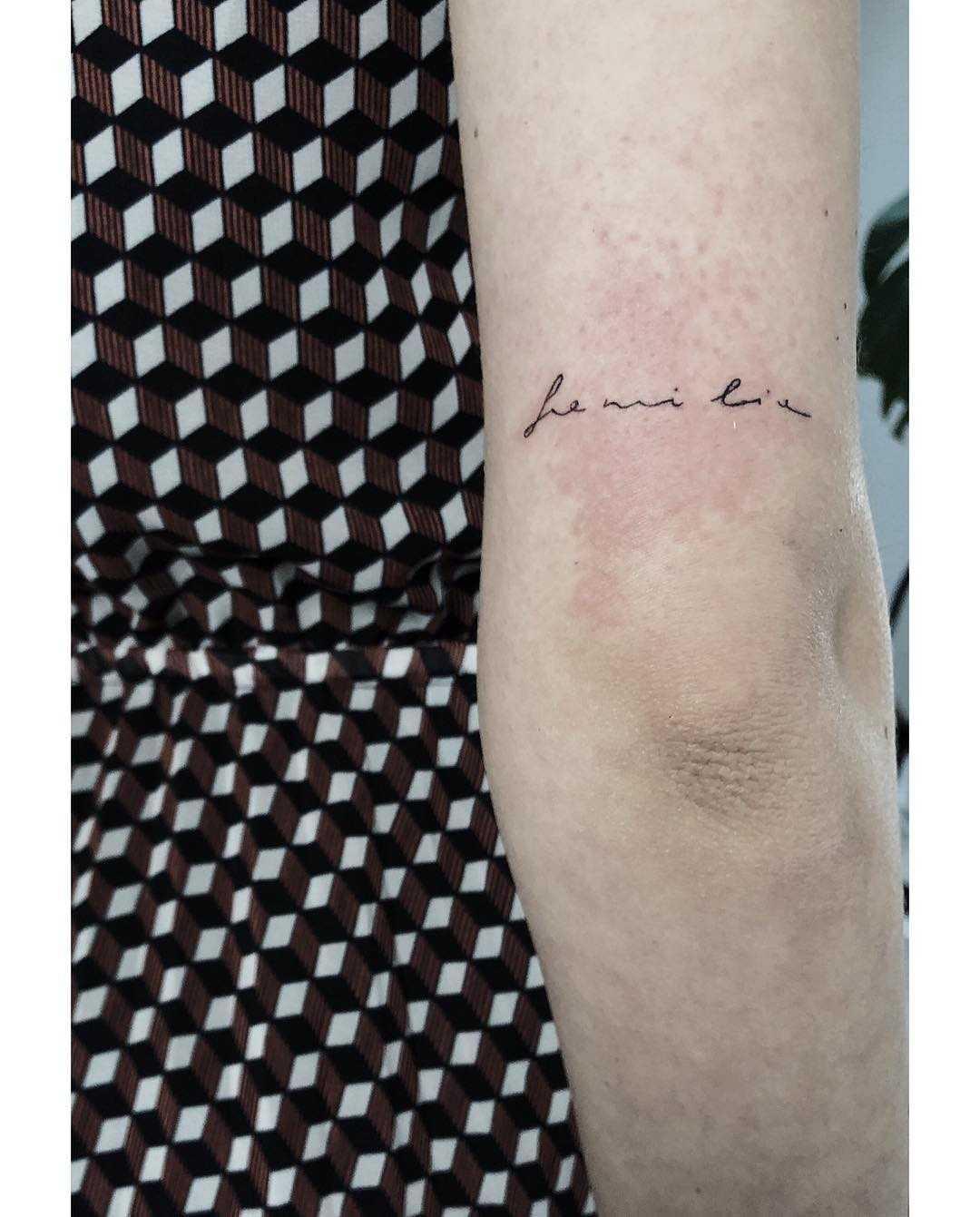 Familia tattoo by Tania Ost