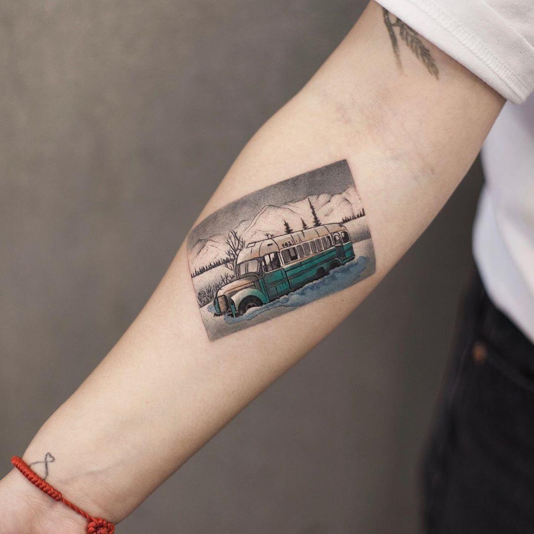 Into The Wild by tattooist Chenjie