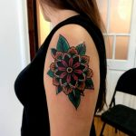 Mandala flower by rocotatt