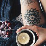 Mandala inked by Tania Ost