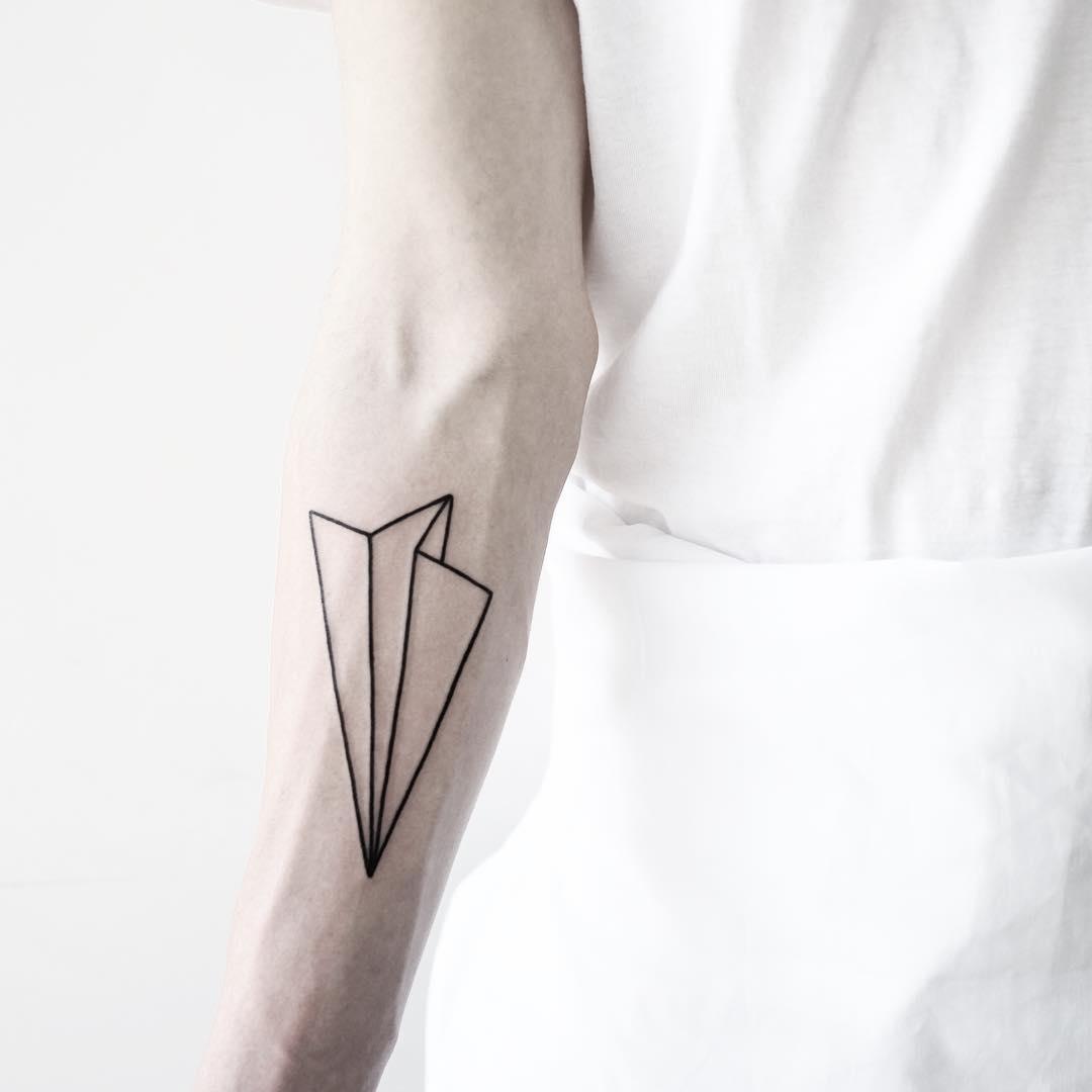 Paper airplane by Malvina Maria Wisniewska