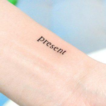 Present by tattooist Cozy