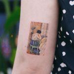 Ramón Casas - Las horas tristes tattoo by tattooist Saegeem
