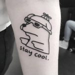 Stay cool by tattooist Mr.Heggie