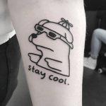 Stay cool by tattooist Mr.Heggie