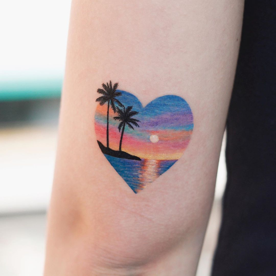 Sunset by tattooist Saegeem