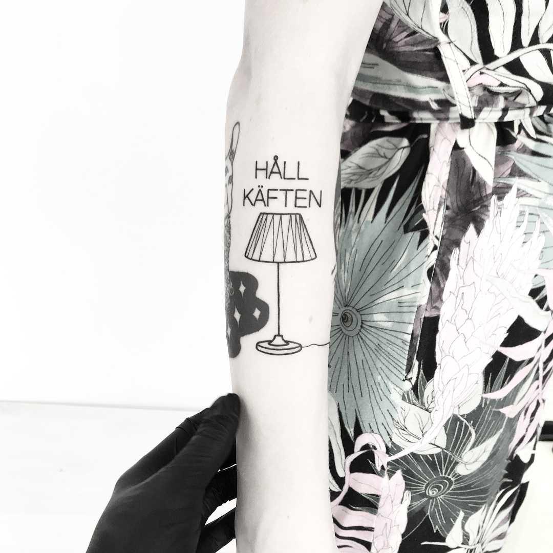 Tattoo inspired by Jan Stenmark inked by tattooist pokeeeeeeeoh