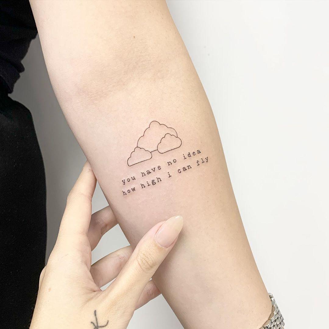 The Office quote tattoo by Sara Kori