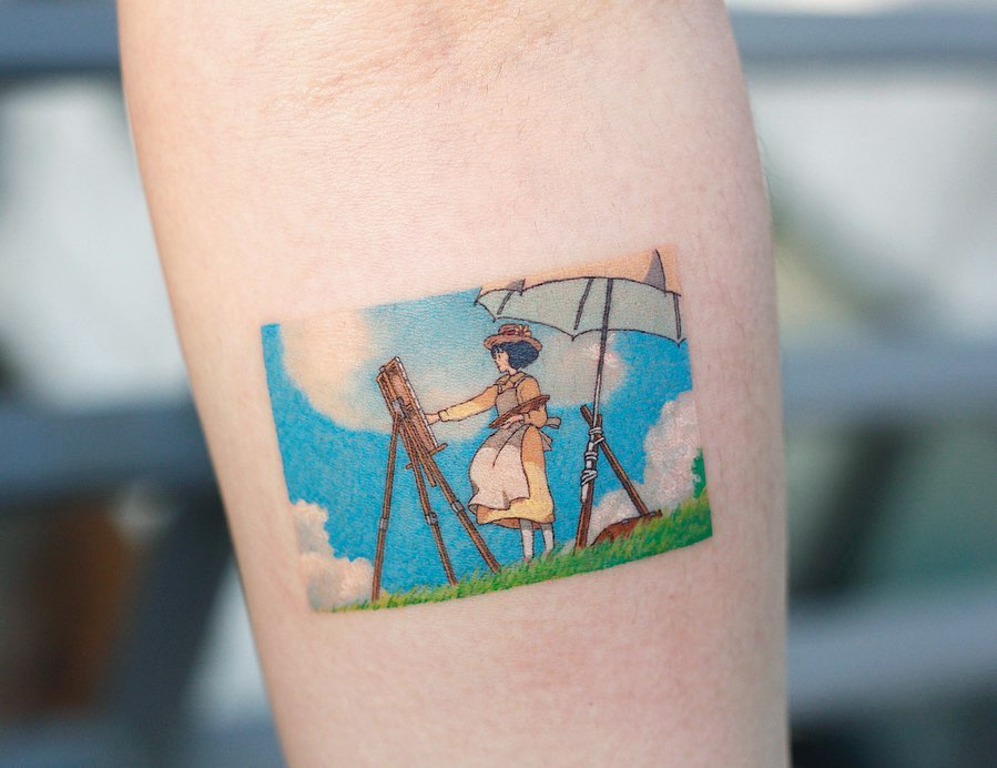 The Wind Rises 2013️ by tattooist Saegeem