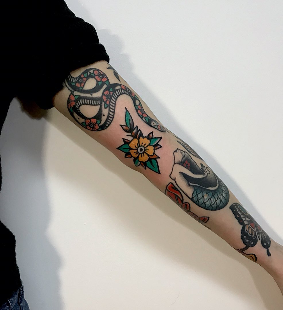 Traditional ink by rocotatt