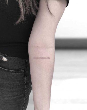 Uproar in encore tattoo by Oscar Jesus